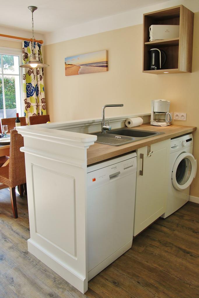 nouvelle cuisine avec lave vaisselle et lave linge. Black Bedroom Furniture Sets. Home Design Ideas